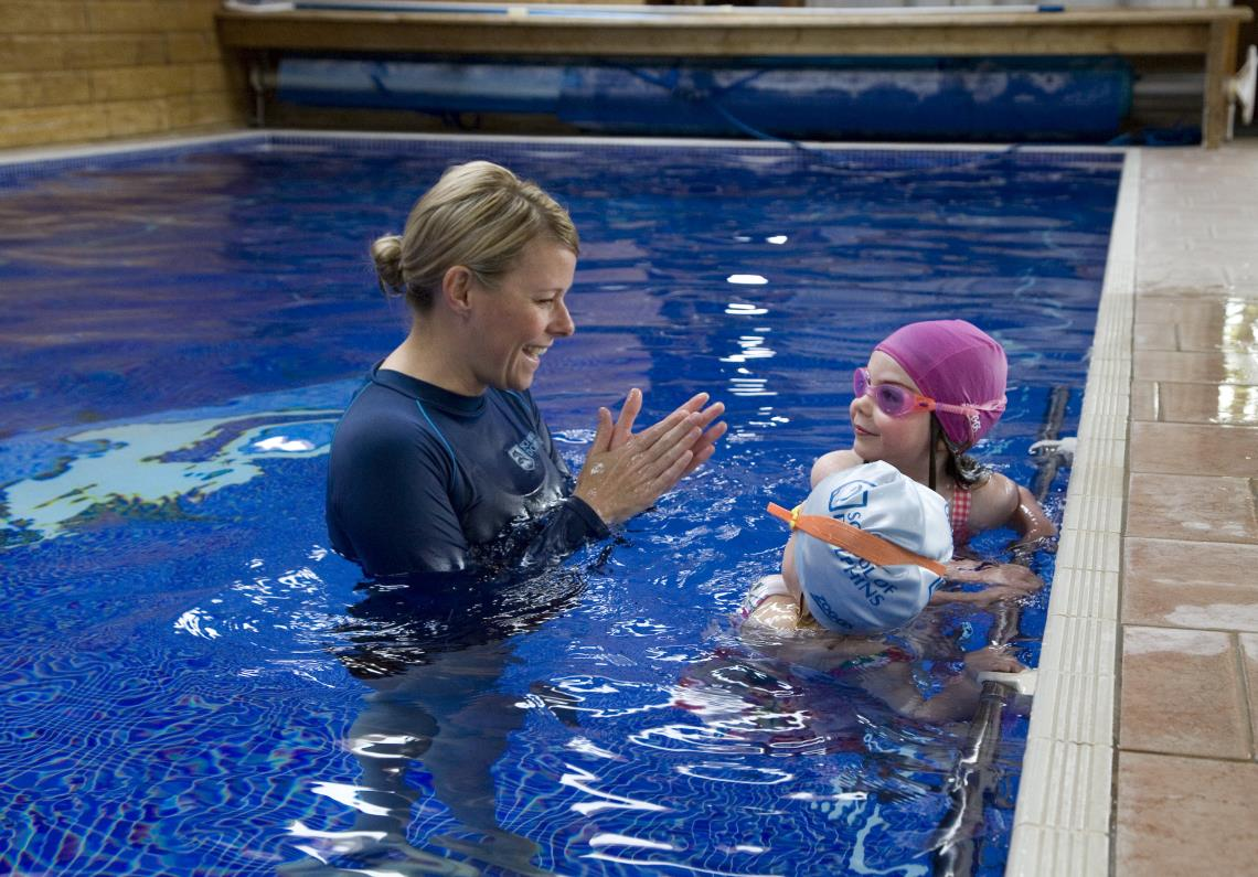 swimming lessons for children by School of Dolphins, Hampshire