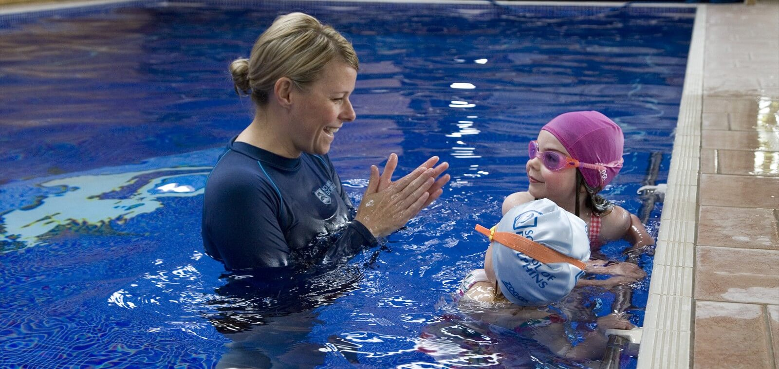Learn to swim classes for babies, toddlers and primary school aged children